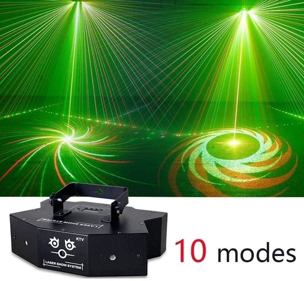 Disco Lights for Parties Disco Lights, Durable 16 Pattern Dance Party Spotlight, Sound Actived Automatic Control Disco KTV Bar Pub Club KTV zhanm7.13
