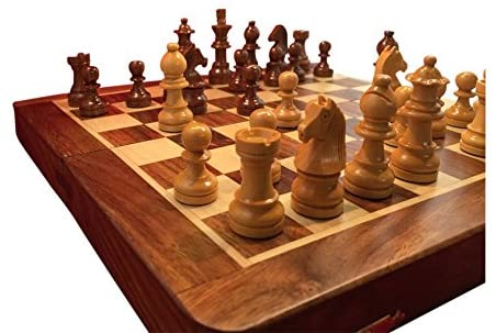 ChessCentral Magnetic Travel Wood Chess Set