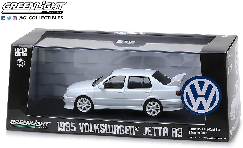 1995 Volkswagen Jetta A3 White 1/43 Diecast Model Car by GreenLight 86322
