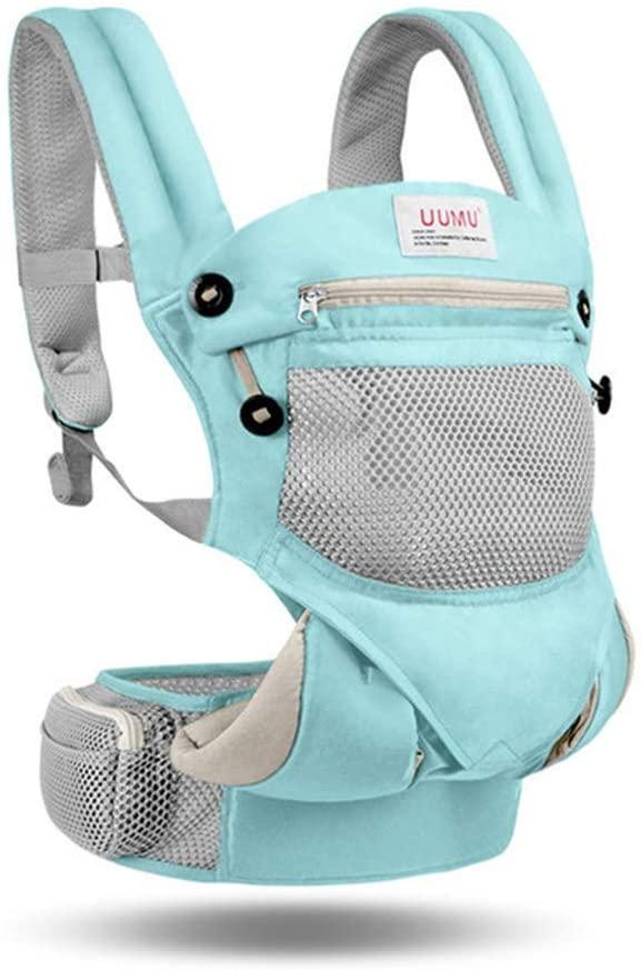 QSEFT Ergonomic Baby Carrier Sling Breathable Kangaroo Hip Seat Backpacks& Carriers Multifunction Backpack 2-30 Months