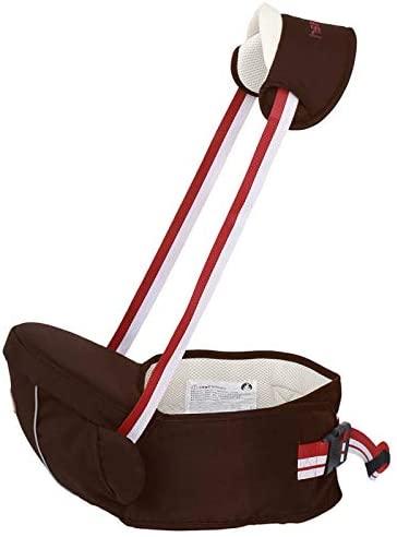 DLDLGJ 0-3 Years Baby's Carrier Waist Stool Multifunction Baby Hold Hip Seat Belt Adjustable Toddler Kids Infant Sling for Borns