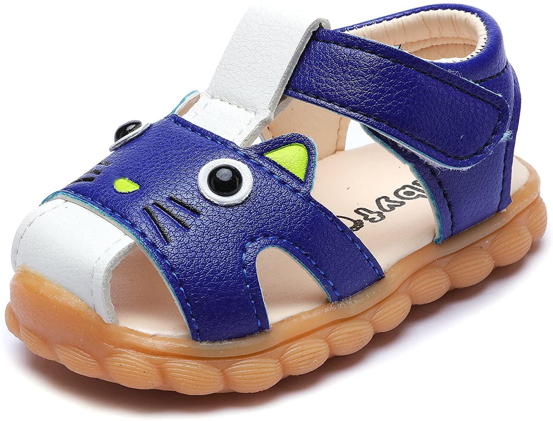 UBELLA Baby Girls Boys Sandals Toddler Non-Slip Summer First Walker Shoes Prewalker Sandals