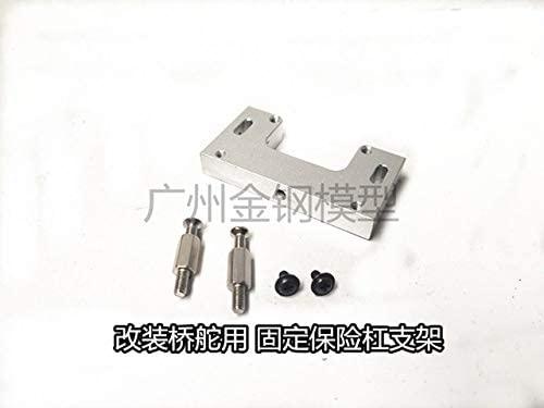 Parts & Accessories MN Model 1:12 D90 D91 wpl B14 B24 C24 RC car Spare Parts Upgrade Metal Bridge 9g 12g 17g servo Bracket - (Color: Set 4)