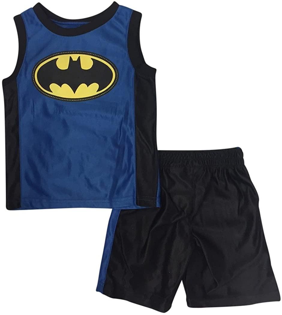 DC Comics Boys' 2 Piece Batman Dazzle Short Set