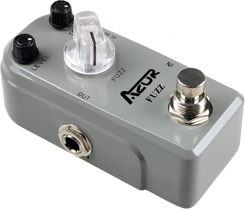 AZOR AP-303 Fuzz Mini Guitar Effect Pedal with True Bypass Aluminium-Alloy …