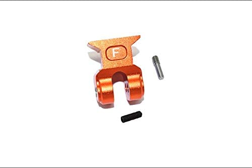 Arrma 1/10 KRATON 4S BLX Upgrade Parts Aluminum Front Suspension Link Stabilizer - 1Pc Set Orange