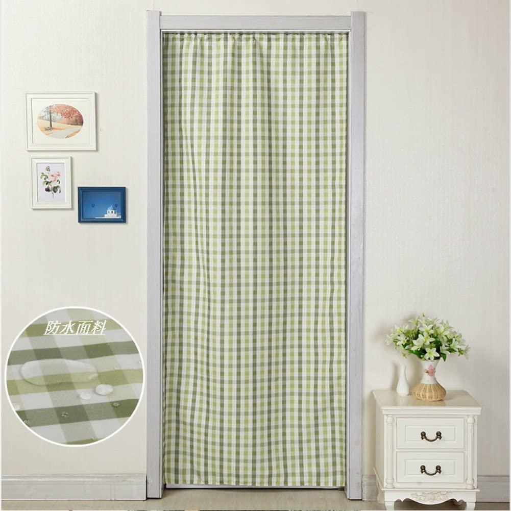 LIUYANLI Fabric Curtain/Bedroom,Anti-Mosquito Curtain/Sun,Curtains/Kitchen,Living Room Curtain/Pastoral Curtain-E 90x210cm(35x83inch)
