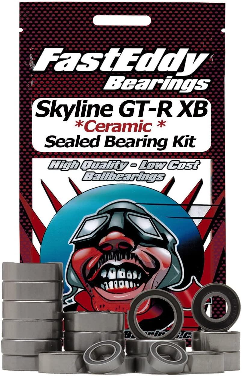Tamiya Calsonic Skyline GT-R XB (TL-01) Ceramic Rubber Sealed Bearing Kit