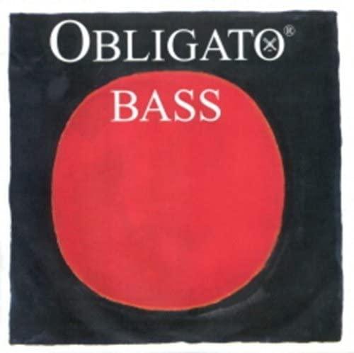 CUERDAS CONTRABAJO - Pirastro (Obligato 441120) (Entorchado Sintetico) 1ª Medium Bass 3/4 G (Sol)