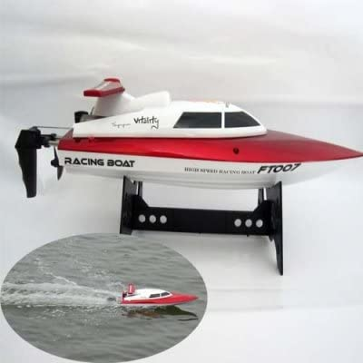 Ft-007 Four Channel Remote Control Yacht Kids Toy - Red & White
