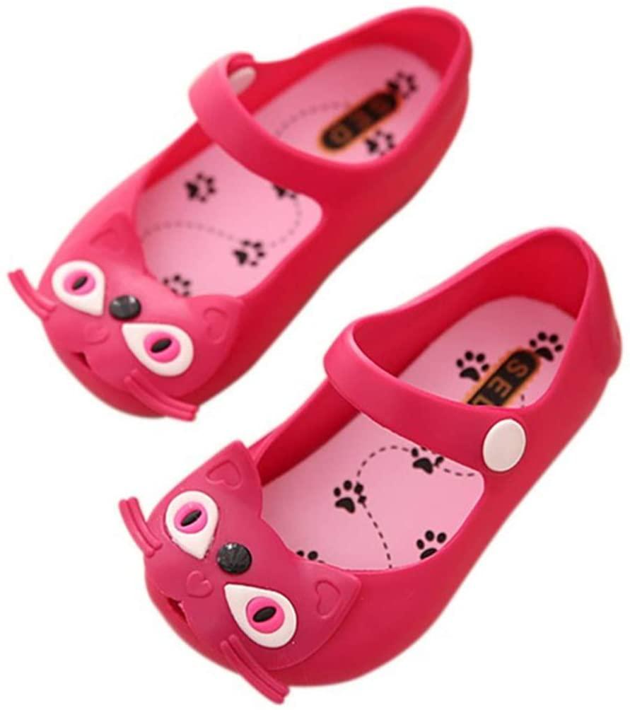 Acoolstore Newborn Baby Summer Kids Jelly Shoes Sandals Girls Spring Sandals Cute Kitten Toddler Princess Shoes Playtoday Beach Sandals
