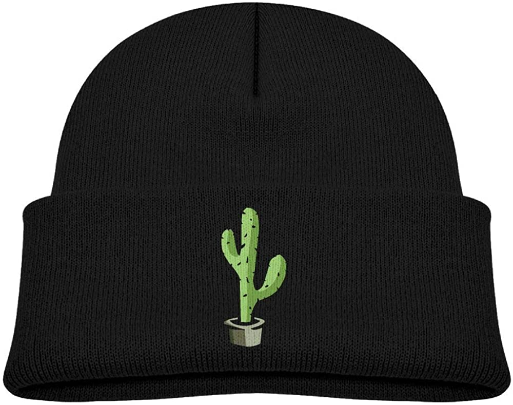 lead-do Baby Boys Girls Cactus-PNG-Clipart Kint Beanie Hats Toddler & Kids Winter Warm Kinted Caps(2-6T)