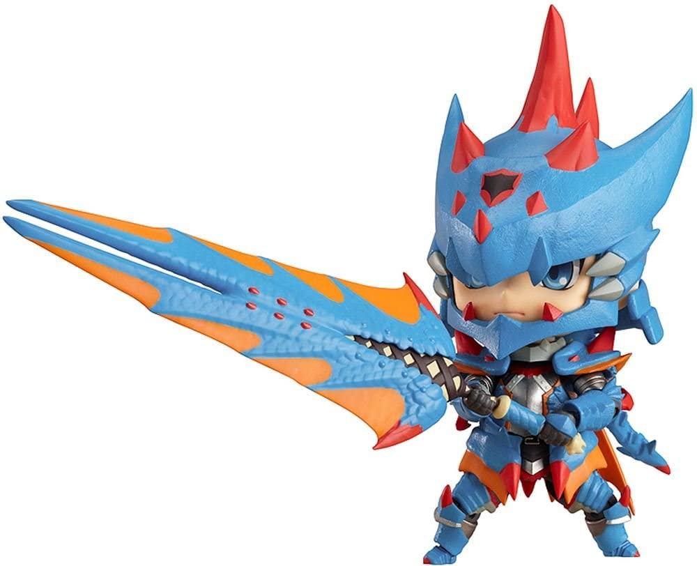 Good Smile Monster Hunter: Male Swordsman Nendoroid Action Figure Lagia X Edition