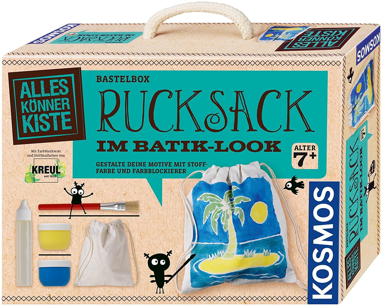 KOSMOS Basteln 604332 Batik Style Backpack