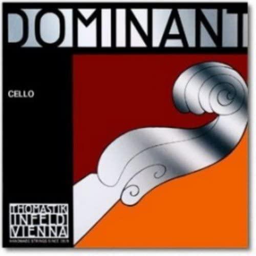 CUERDAS VIOLONCELLO - Thomastik (Dominant 147) (Metal/Cromo) Medium Cello 3/4 (Juego Completo)