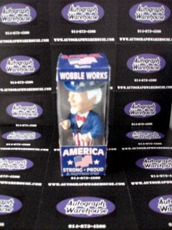 Uncle Sam Bobble Head - Figure is fine - box in poor condition - clearance