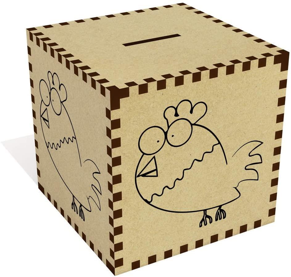 Azeeda Large 'Alarmed Chicken' Money Box / Piggy Bank (MB00008882)
