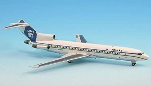 InFlight 200 IF722021 B727-200 Alaska Airlines Model Airplane