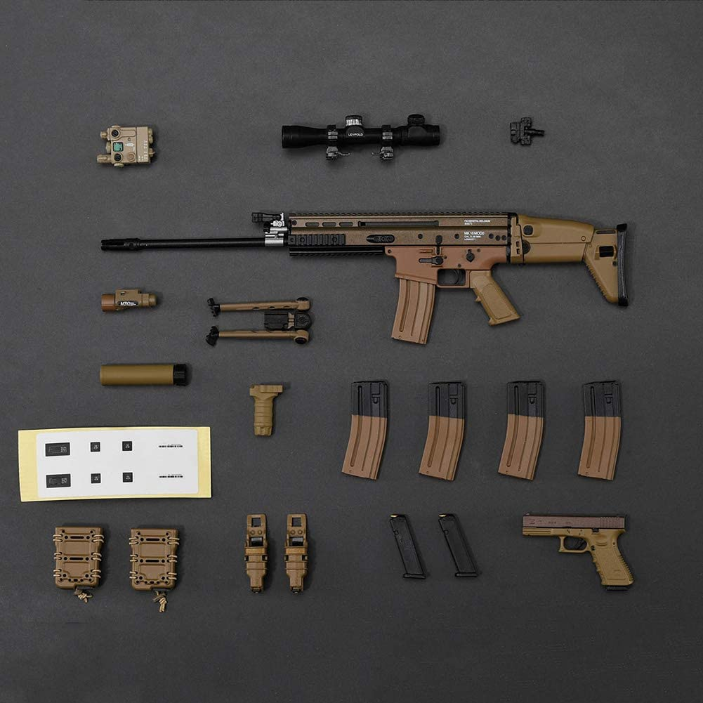 12Inch Action Figure Accesssories Gun Weapon Model Not Launchable 1/6 Soldier Doll Toys for Kids