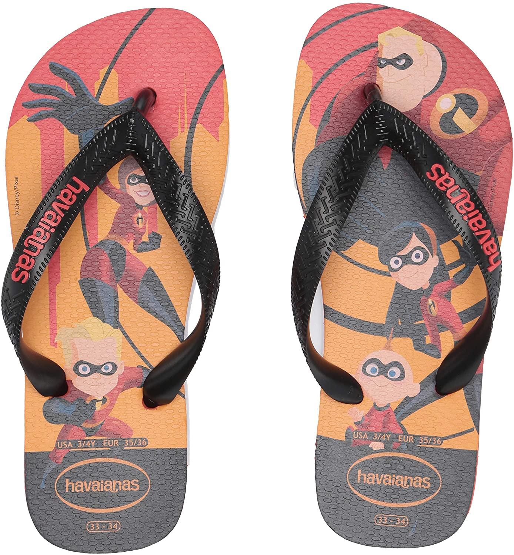 Havaianas Kids Incredibles 2 Sandal, (Toddler/Little Kid)
