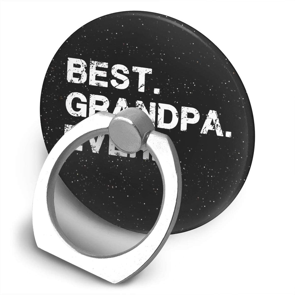 Lozeow Best Grandpa Ever Idea for Dad 360 Degree Rotating Ring Stand Grip Mounts
