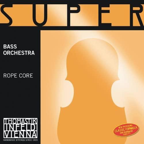 Thomastik-Infeld 2883.6 Super Flexible Double Bass Single Low B String, 2883.6, 1/2 Size, Steel Core, Chrome Wound