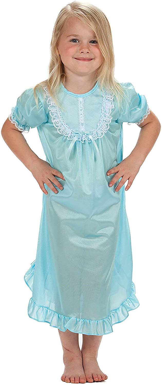 Laura Dare Baby Girls Long Sleeve Traditional Nightgown, (9m-24m)