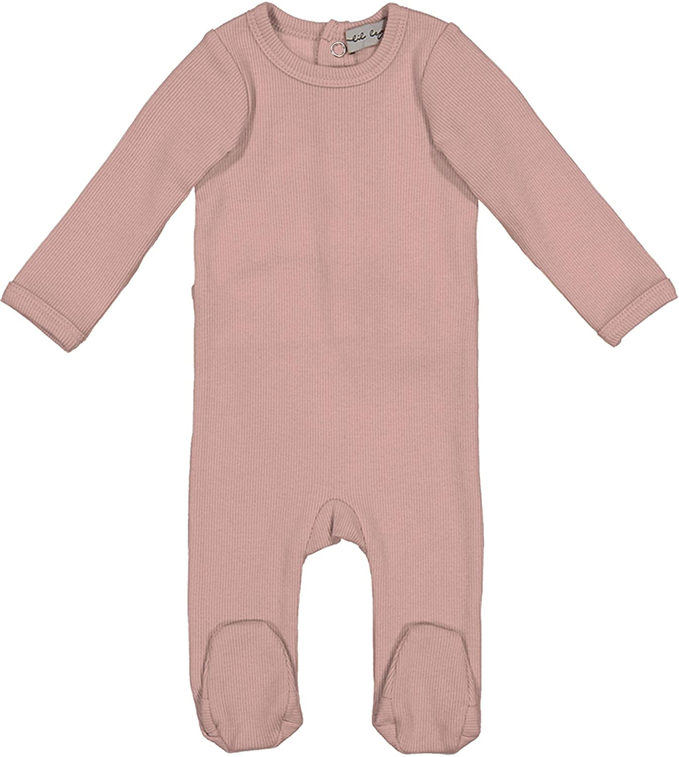 Lil Legs Boys Girls Unisex Baby Long Sleeve Ribbed Stretchie