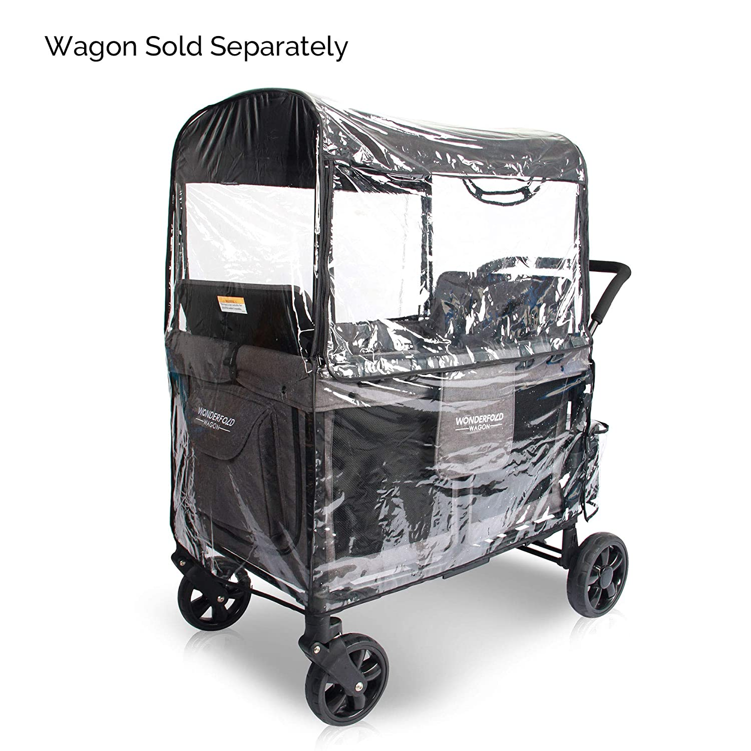 WonderFold Wagon W Series Rain Cover with Entrance (W4)