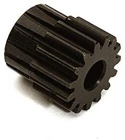 Integy RC Model Hop-ups C28850 Billet Machined 15T Pinion Gear for Arrma 1/10 Granite 4X4 3S BLX