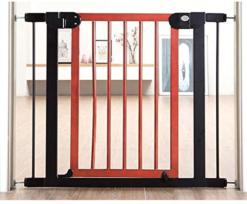 Huo Free Punch Baby Safety Gate Bar Stair Barrier Baby Isolation Door Pet Fence Auto Close (Size : 132-139cm)
