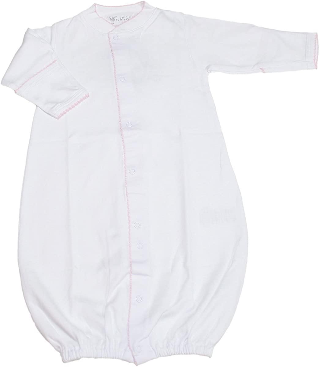 Kissy Kissy - Basic Converter Gown - White Pink