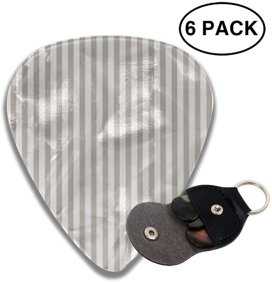 Game Life Gray Line Guitar Picks Plectrums Middle Finger Classic Celluloid Bass Ukulele