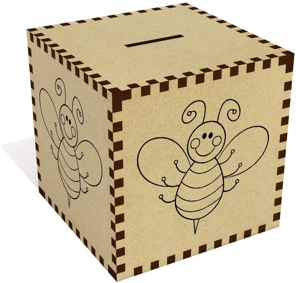 Azeeda Large 'Bumble Bee' Money Box / Piggy Bank (MB00021932)