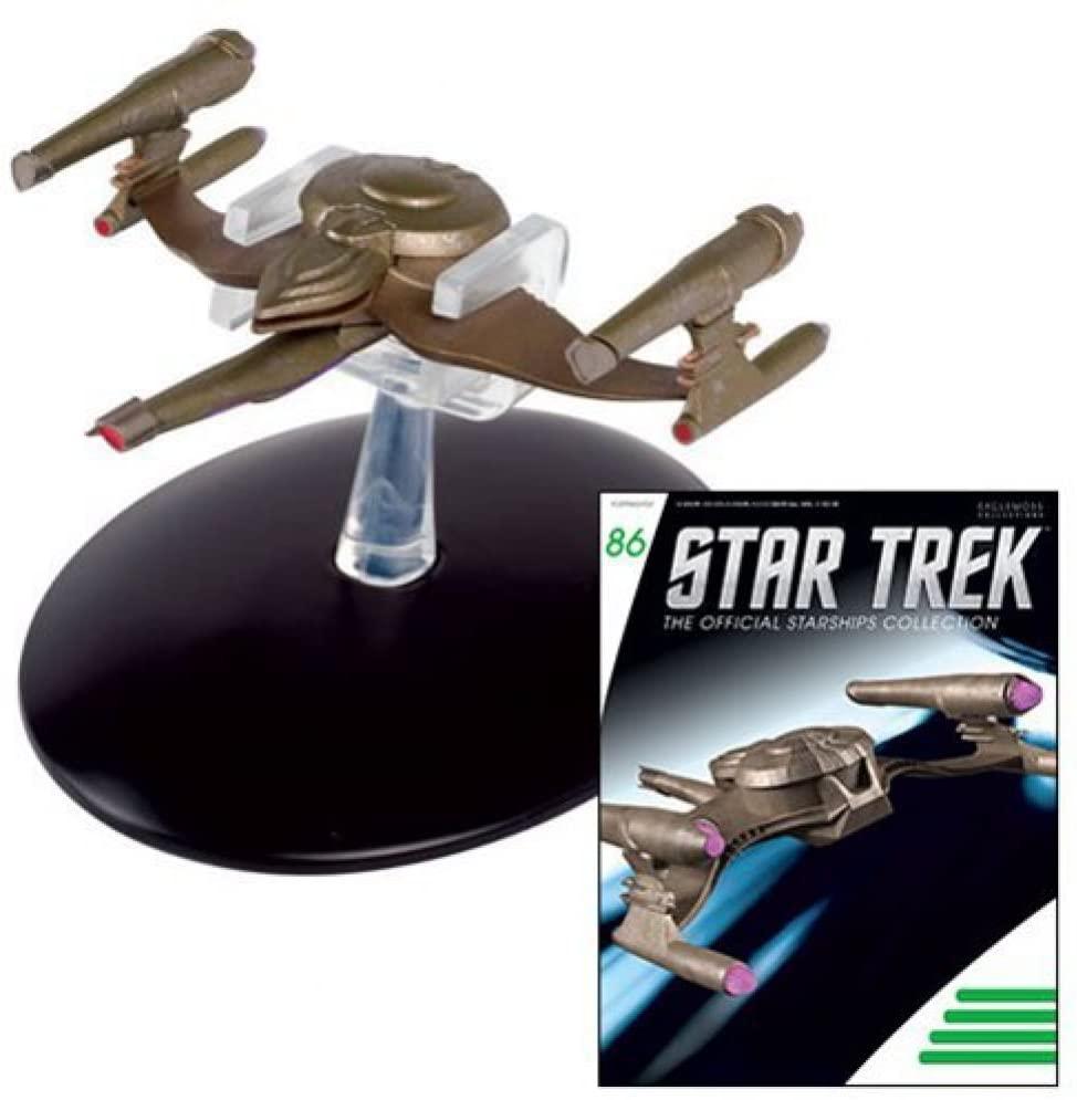 Star Trek Starships Gorn Ship Die-Cast Vehicle with Collector Magazine #86