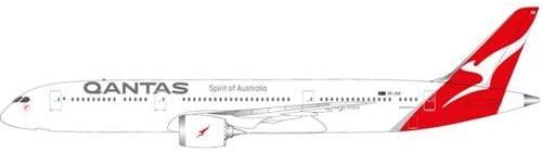 Herpa 611770Vehicle (Qantas Boeing 787Dreamliner–VH ZNA