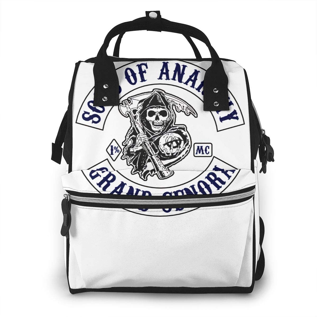 Sons of Anarchy Diaper Bag Multi-Function Waterproof Travel Backpack Nappy Bags for Baby Care Mummy Backpack