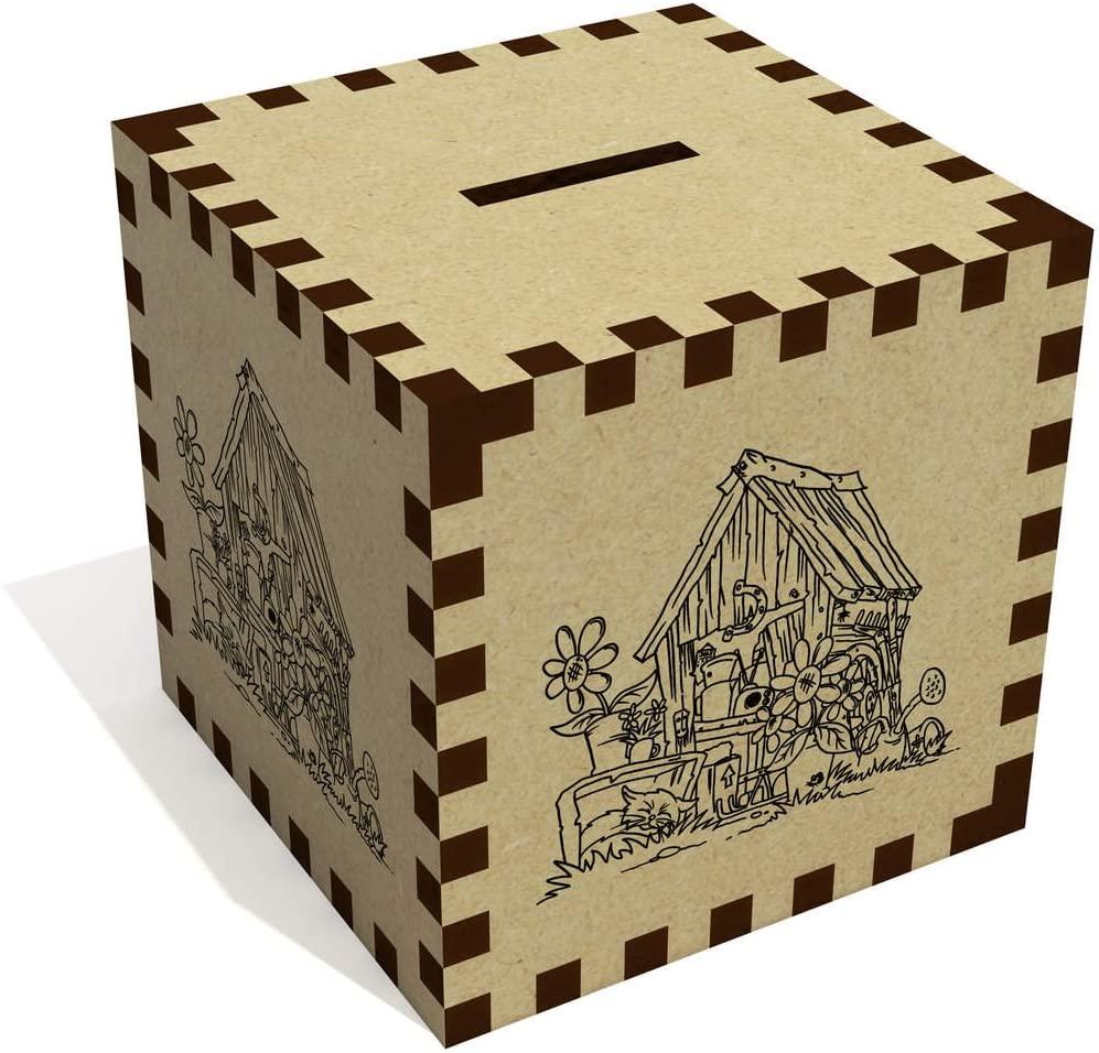 Azeeda 'Old Shed' Money Box / Piggy Bank (MB00040911)