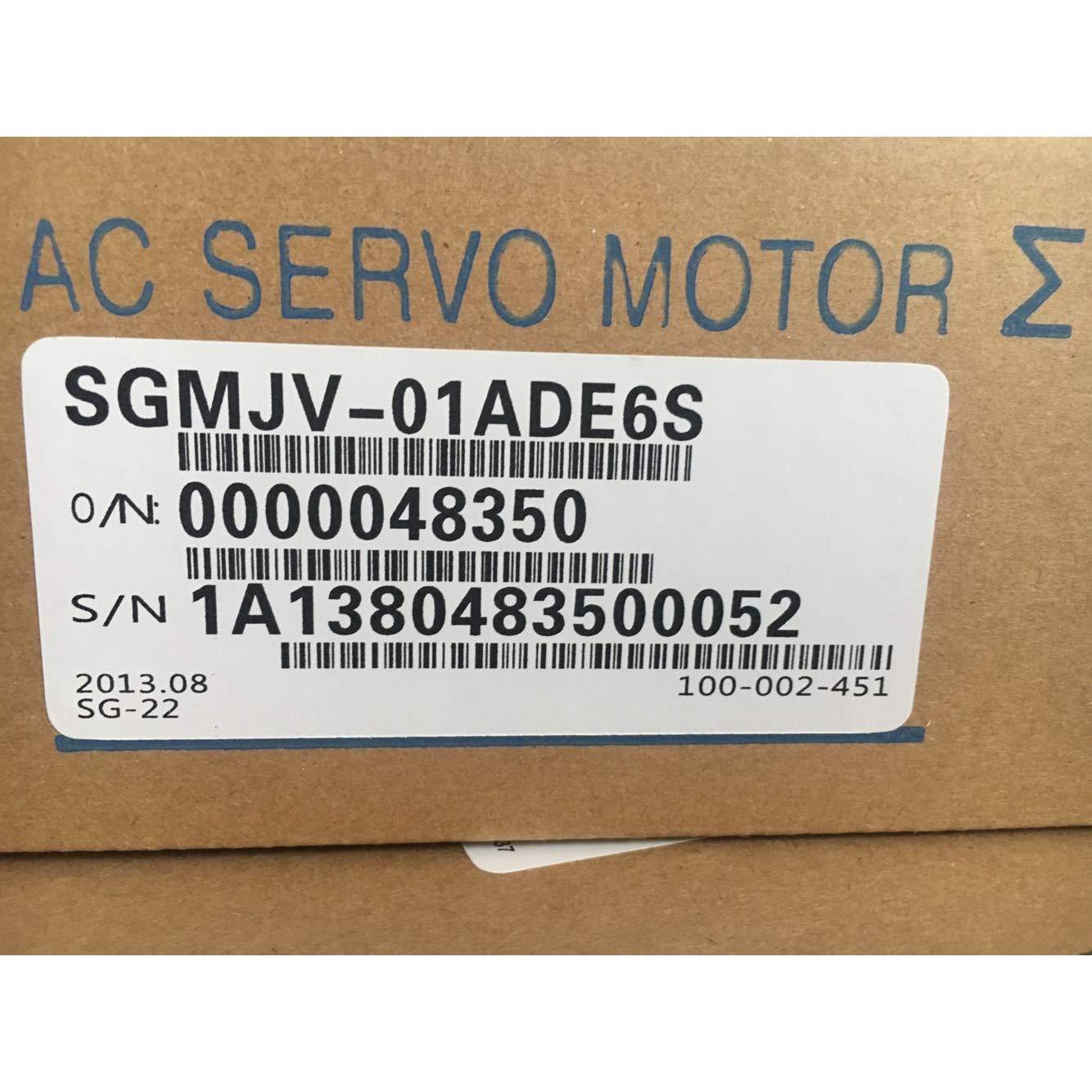 Sigma-5 Series Servo Motor SGMJV-01ADE6S 100W 3000r/min 0.318N.m 200VAC