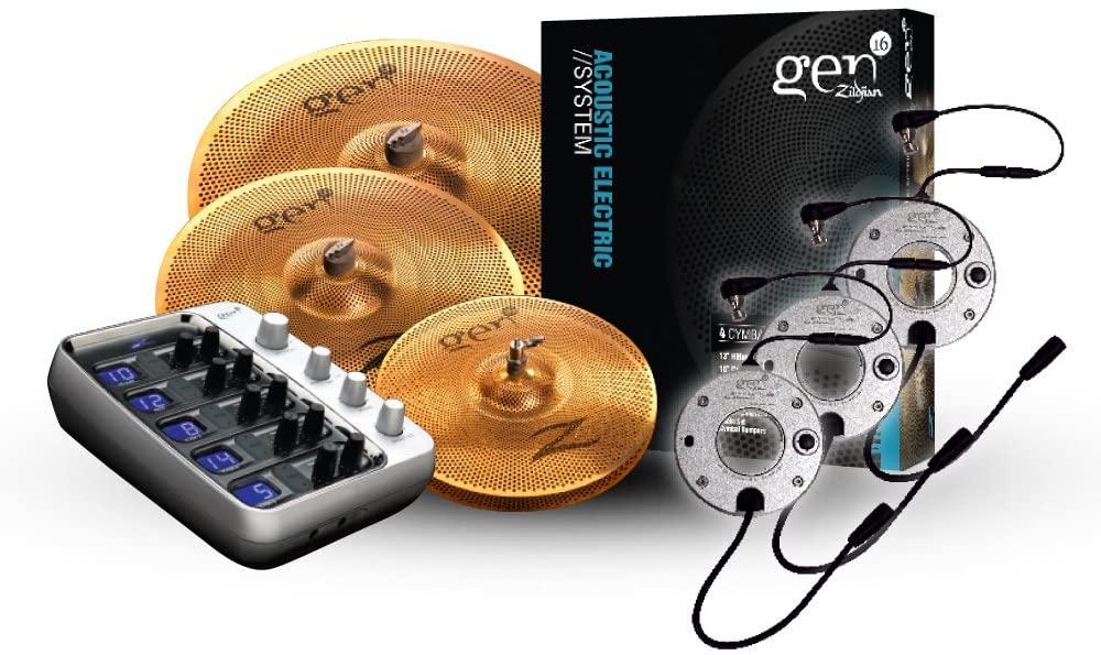 Zildjian Gen16 Buffed Bronze 14/18/20 Cymbal Set