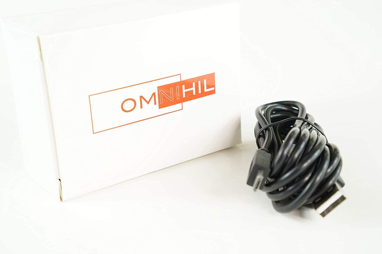 OMNIHIL 5 Feet Long High Speed USB 2.0 Cable Compatible with ITEKNIC BH004,BH003,BH001 TWS Bluetooth Earbuds