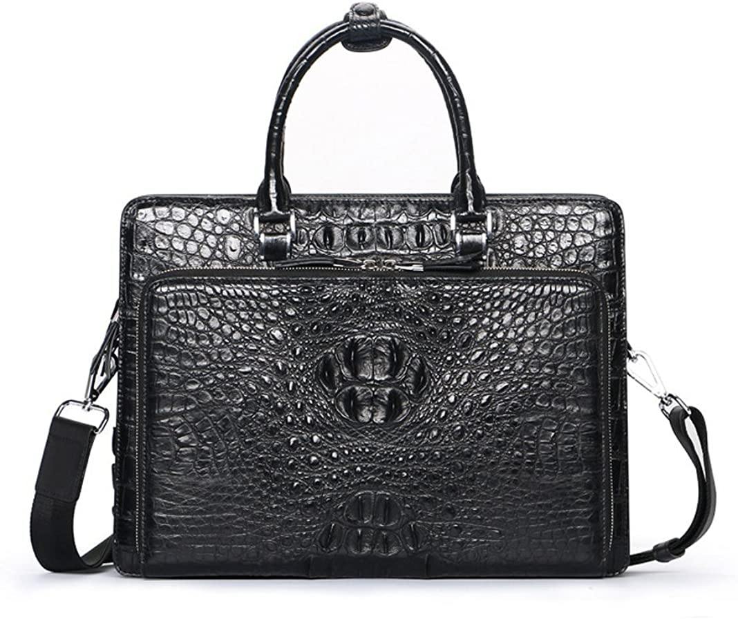 Crocodile Skin Leather Briefcase & Business Bags