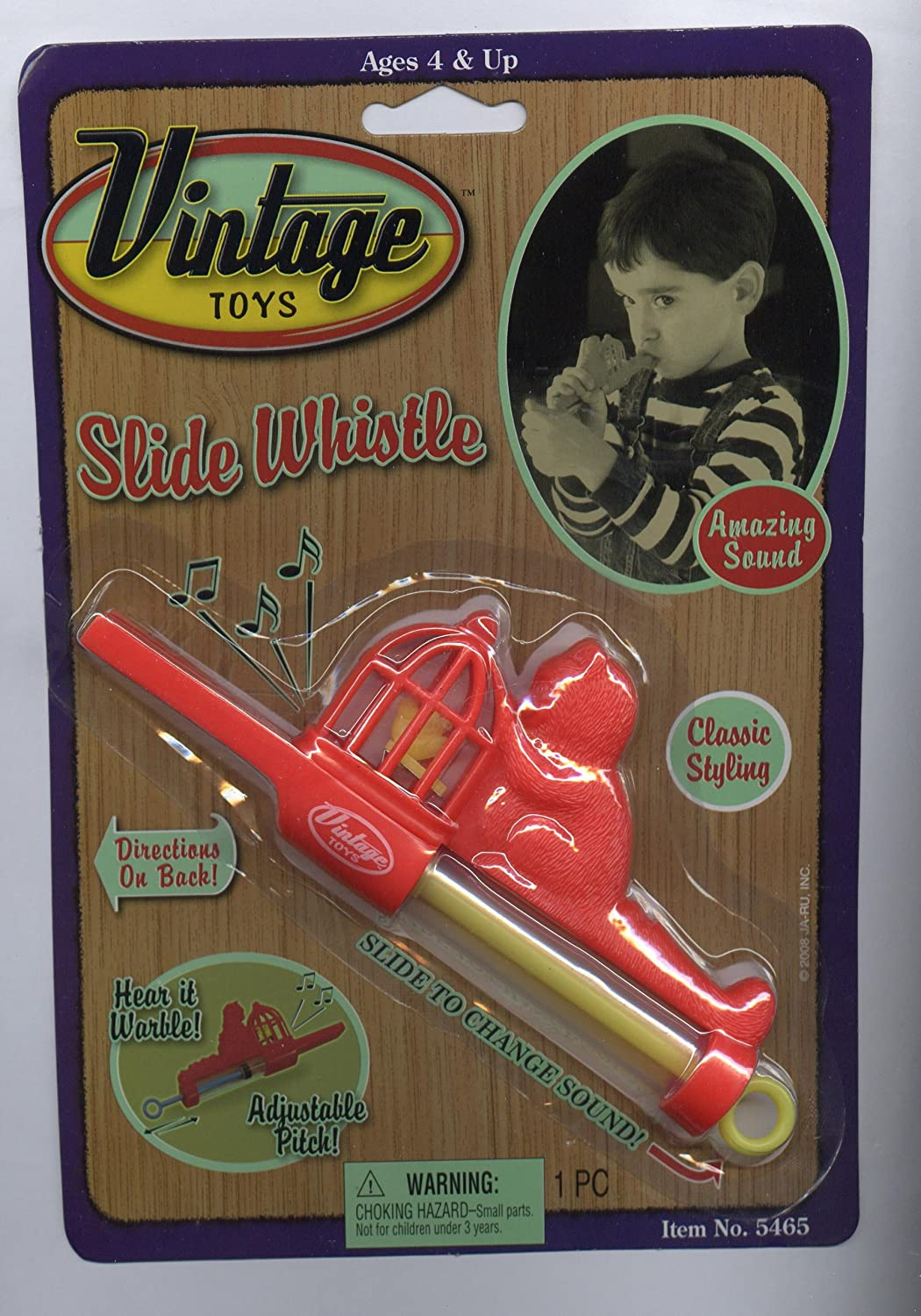 Vintage Toys Slide Whistle