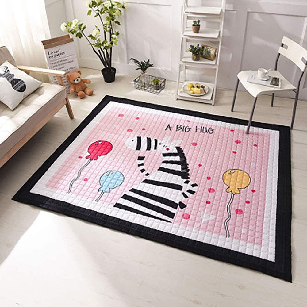 ZAIPP Baby's Bedroom,Tatami Rugs Children Safe Carpets,not-Slip Kids Playing Mats for Living Room,Baby Crawling Mat C