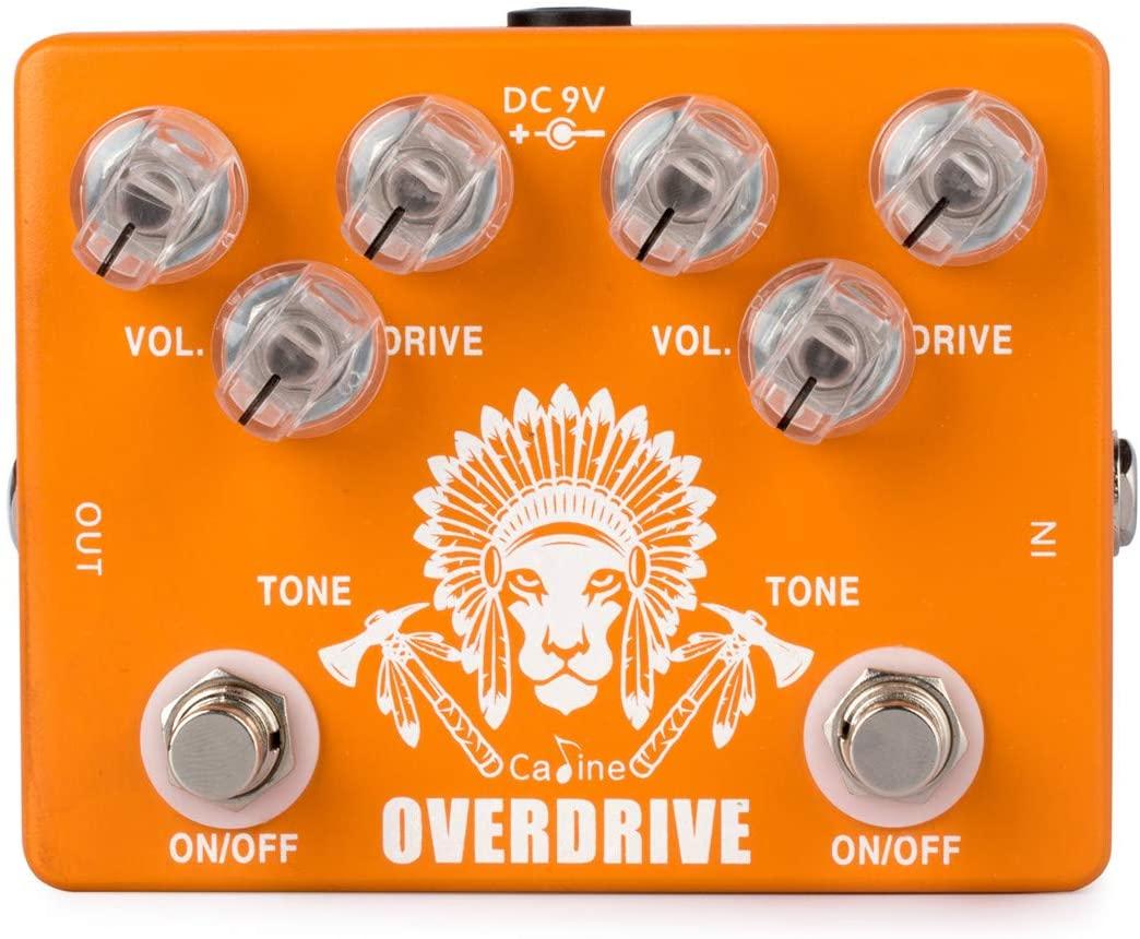 Caline CP-70 Dual Overdrive Guitar Effect Pedal True bypass Design