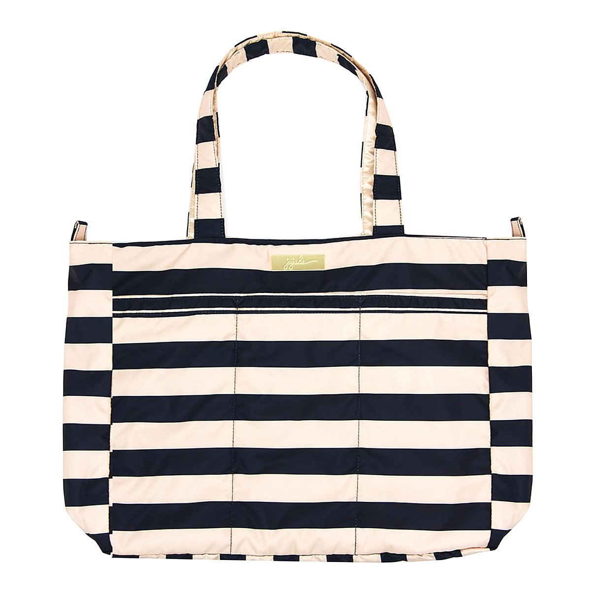 JuJuBe Super Be Large Everyday Lightweight Zippered Tote Bag, Legacy Nautical Collection - The First Mate