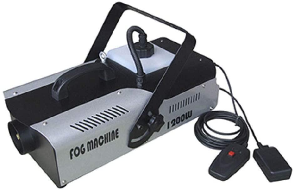 YHL Small Haze Machine Smoke Machine with 1500W Remote/Wire-Controlled Thermostatic Fog Machine for Halloween Wedding Party Disco Dj Effect