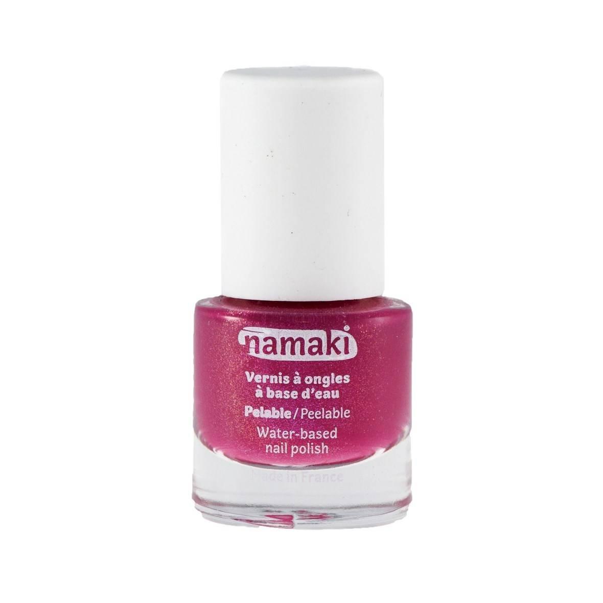 NAMAKI - Water Based Nail Polish - Fuchsia - Easy to apply - Dries quickly - No harmful chemical additives - 7.5 ml