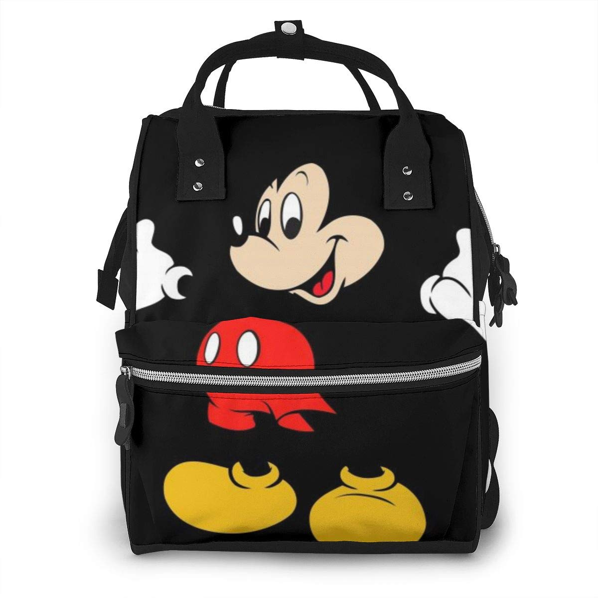 Diaper Bag Backpack - Mickey Mouse Multifunction Waterproof Travel Backpack Maternity Baby Nappy Changing Bags