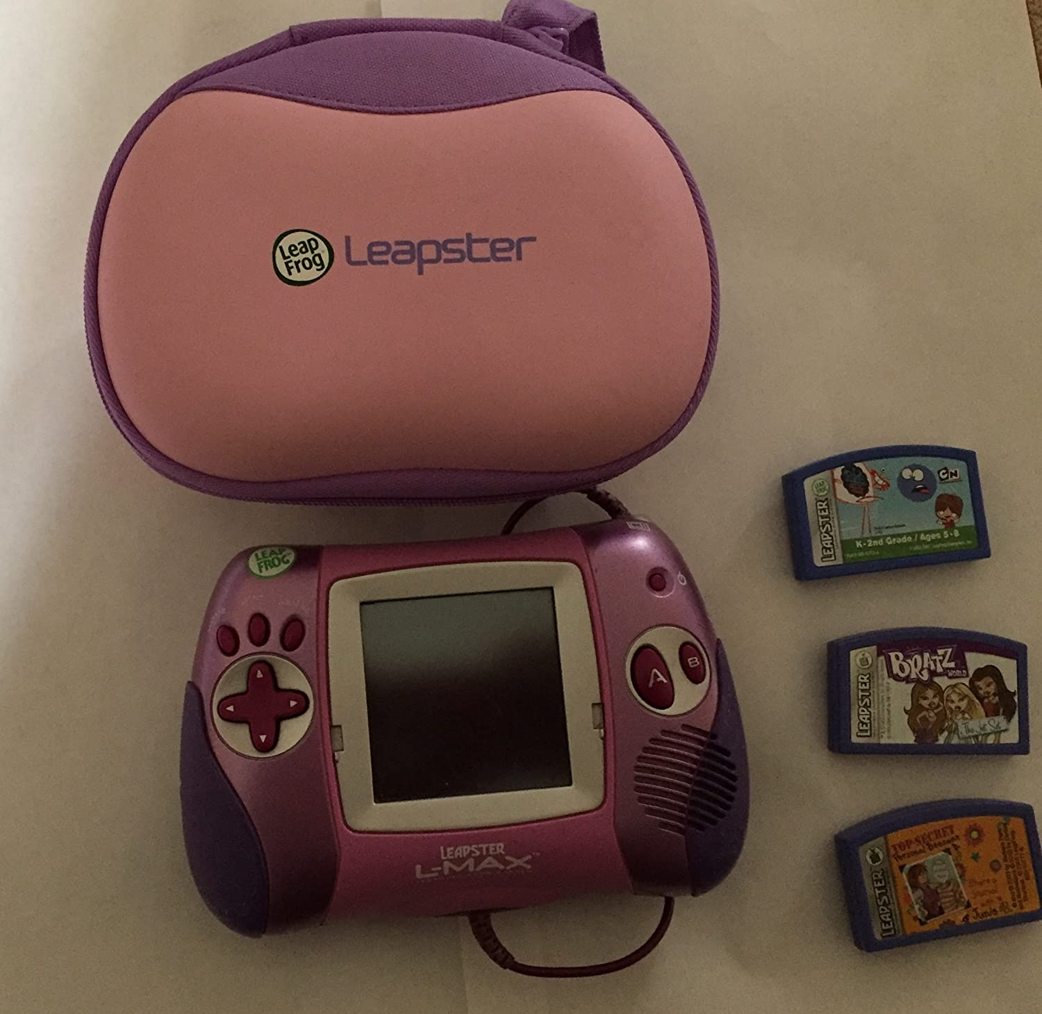 Leap Frog Leapster L-Max Girl Portable and TV Learning System
